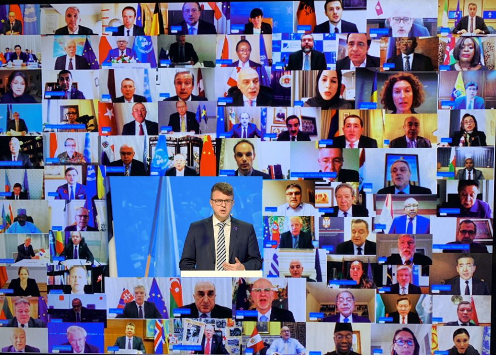 Estonian-led virtual meeting with 50 UN Security Ministers